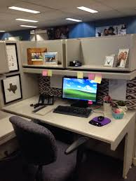 Custom Computer Desk Design by Decor Custom Cubicle Decorations To Improve Your Mondays