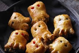 halloween savoury snack ideas netmums