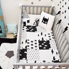 Black And White Crib Bedding For Boys Batman Bedroom Ideas Home Designs Ideas Tydrakedesign Us