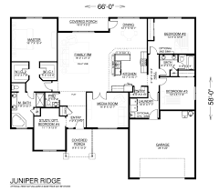 custom built home floor plans juniper ridge home plan our most popular true built home