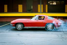 corvette clutch burnout photos of my and his 1963 split window corvette ultra mega