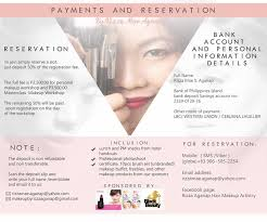 makeup classes island makeup class cebu rizza mae aganap professional makeup artist