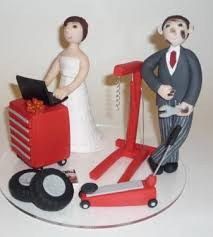 mechanic cake topper october brides show your cake toppers weddingbee