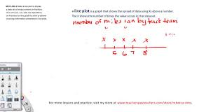 line plot introduction 5th grade common core youtube