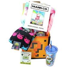 gamer gift basket toynk gaming theme mystery gift box of toys collectibles