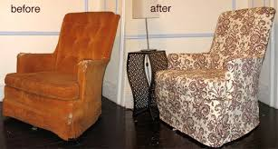 how to slipcover a chair how to slipcover a reading chair apartment therapy