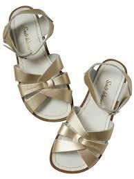 salt water sandals womens original gold u2013 lalt collective