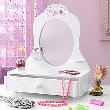 Table Top Vanity Mirror Kids Personalized Vanity Mirror Who U0027s The Fairest