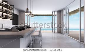 Loft Modern Coffee Shop Cafe Loft Modern 3d Stock Illustration 469896317