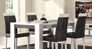 dining room white leather dining room chairs beloved black linen