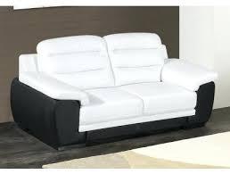 canape simili cuir 2 places ensemble de canapac 32 pvc noir et blanc canape simili cuir 2 places canapac design 2 places avec appuie
