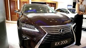 lexus rx interior lexus rx 200 t 2018 exterior and interior youtube