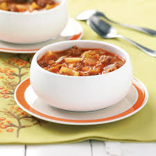 cabbage soup recipe taste of home