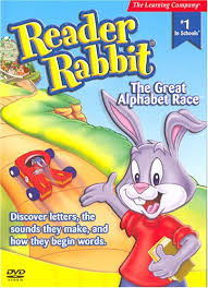 rabbit dvds reader rabbit the great alphabet race 2005 parents choice award