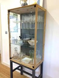 cherry wood corner cabinet small corner display cabinet bonnet cherry mirrored display corner