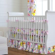 Zig Zag Crib Bedding Set Nursery Beddings Yellow And Gray Chevron Crib Set Also Gray And