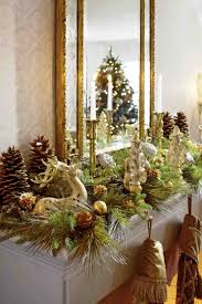 rustic chic christmas decorations cheminee website