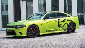 widebody hellcat green dodge charger srt hellcat news muscle cars