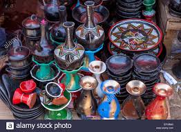 traditional coffee pots and plates for sale in the merkato addis