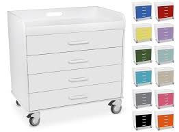 Small Locking Cabinet Polyethylene Small Extra Wide Compact Locking 4 Drawer Carts In 13