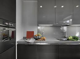 white and grey modern kitchen modern kitchens hgtv