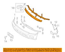 infiniti qx56 year changes infiniti nissan oem 05 10 qx56 front bumper upper reinforcement