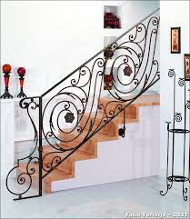 Fer Forge Stairs Design 3073 Wrought Iron Application Fatih Wrought Iron Company