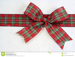 plaid christmas plaid christmas bow royalty free stock photo image 7511885