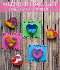 crayon valentines diy crayon hearts for cards this valentines day