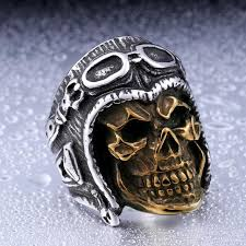 classic skeleton ring holder images Steel soldier new style stainless steel skull astronaut ring for jpg
