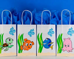 finding dory party favors finding nemo party favor tags