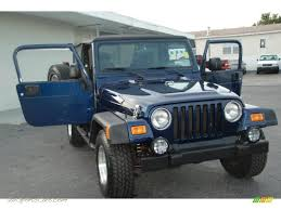 2004 jeep wrangler sport 4x4 in patriot blue pearl 712821 jax