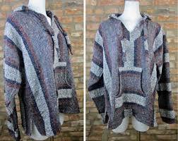Mexican Rug Sweater 90s Corona Baja Hoodie Vintage Drug Rug Mexican Hooded