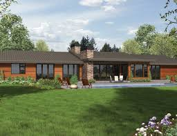 modern style home plans contemporary ranch house plans mid century modern ranch house