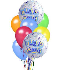 balloons delivery dc it s a boy balloon bouquet welcome the new addition about