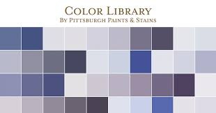 paint color library pittsburgh paints u0026 stains