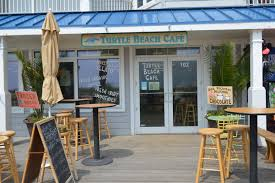 turtle beach cafe dine on the boardwalk serving breakfast lunch