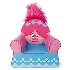 Comfy Kids Chair Now You Can Snuggle Up With The Trolls Character Poppy Themed