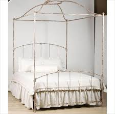 Iron Canopy Bed Armorel Cottage Iron Canopy Bed In Choice Of Finish And Luxury Kid