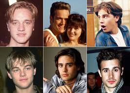 young male actor floppy hair 1980s the top 14 teen heartthrobs from the 90s then and now photos
