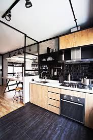 industrial kitchen design industrial themed hdb kitchen renovate pinterest industrial