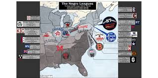 negro league baseball 1920 1950 billsportsmaps com