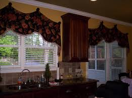 custom kitchen and breakfast nook valances c ryan designs