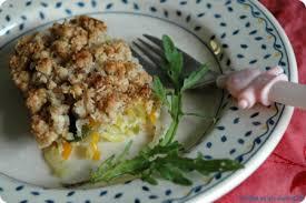 cuisiner les graines de sarrasin crumble de légumes aux flocons de sarrasin sans blé sans lait de