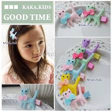 kids hair accessories multicolor hairpin cat hair kids hair accessories