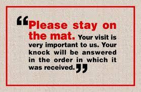 Come In And Go Away Doormat Funny Doormats Coco Mats N U0027 More