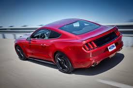 Black Mustang Red Stripes 2016 Ford Mustang Gt Gets Hood Vent Turn Signals New Design Packages