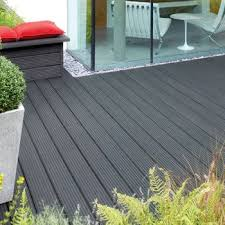 charcoal grey deck stain image of ronseal ultimate protection