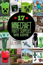 minecraft party decorations 17 minecraft party supplies we spaceships and laser beams