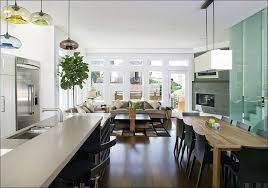 Track Lighting Over Kitchen Island by Kitchen Dining Room Light Not Centered Over Table Rustic Kitchen